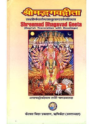 Shreemad Bhagavad Geeta (English Translation With Headings)