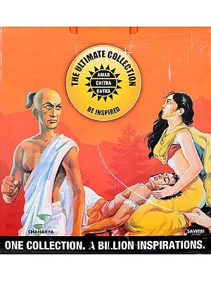 Amar Chitra Katha The Ultimate Collection (Boxed Set of 325 Comics)