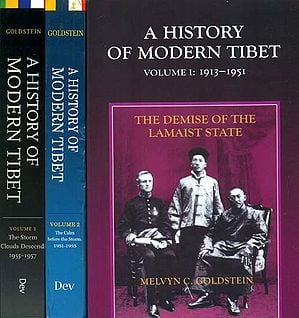 A History of Modern Tibet (Set of 3 Volumes)