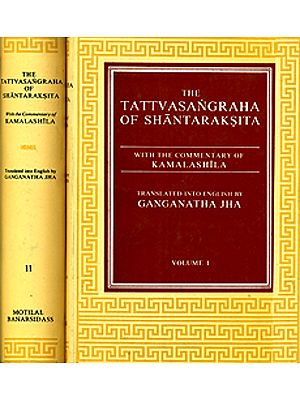 The Tattvasangraha of Shantaraksita (Set of 2 Volumes)