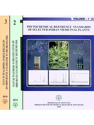 Phytochemical Reference Standards of Selected Indian Medicinal Plants (Set of 3 Volumes)