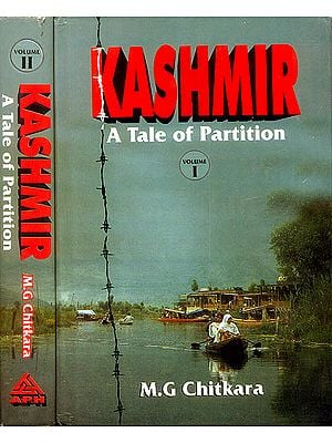 Kashmir:  A Tale of Partition (Set of 2 Volumes)