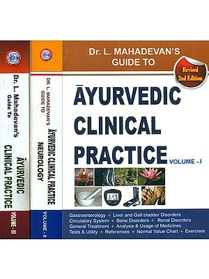 Ayurvedic Clinical Practice (Set of 3 Volumes)
