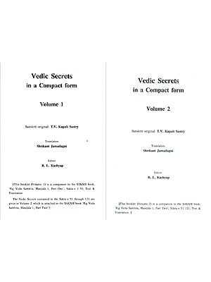 Vedic Secrets in A Compact Form (Set of 2 Volumes)