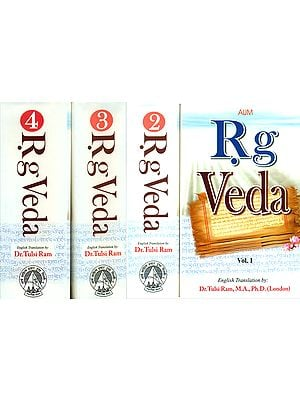 Rig Veda (Set of 4 Volumes)