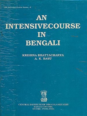 An Intensive Course in Bengali (An Old and Rare Book)