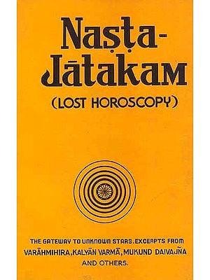 Nasta-Jatakam (Lost Horoscopy)