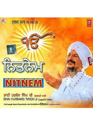 Nitnem Bhai Harbans Singh Ji (Jagadhri Wale) (Audio CD)
