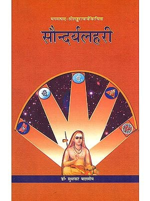 सौंदरयलहरी: Saundaryalahari of Sankaracarya with Laksmidhara Commentary and Its Hindi Translation