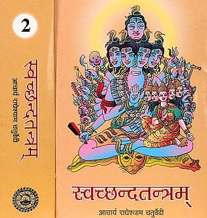 स्व्छ्न्द्तन्त्रम Svacchandatantram (Two Volumes) With the Commentary Svacchandodyota by Acarya Sri Ksemaraja and Jnanavati (Set of 2 Volumes)