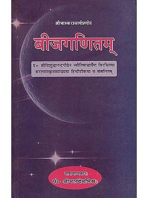 बीजगणितम् (संस्कृत एवम् हिन्दी अनुवाद) - Algebra Mathematics