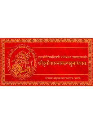 श्रीदुर्गोपासनाकल्पद्रुमाध्यायः Shri Durga Upasana Kalpadrum Adhyaya