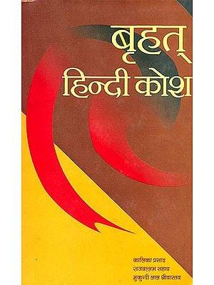 बृहत् हिन्दी कोश: Big Hindi to Hindi Dictionary