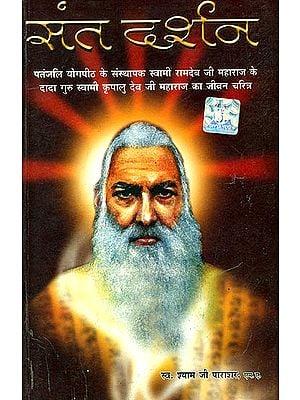 संत दर्शन:  Sant Darshan