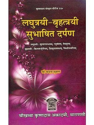 लघुत्रयी बृहत्त्रयी सुभाषित दर्पण: Quotations from the Kumarasambhavam, Raghuvansham, Meghadutam, Kiratarjuniyam, Shishupalvadham and Naishadhiyacharitam