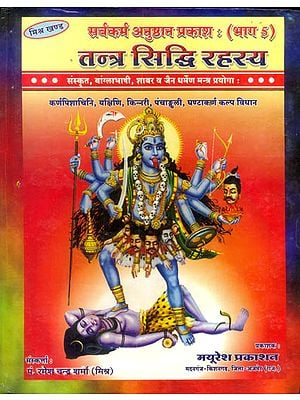 तन्त्र सिध्दि रहस्य: Tantra Siddhi Rahasya