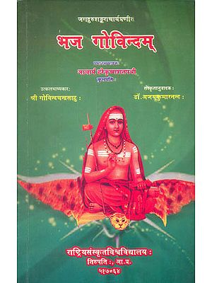 भज गोविन्दम्: Bhaj Govindam with a Sanskrit Commentary