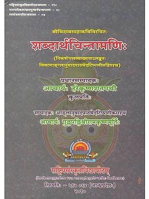 शब्दार्थचिन्तामणि: Sabdartha Chintamani