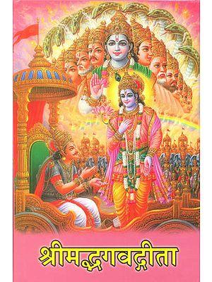 श्रीमद्भगवद्गीता: Shrimad Bhagavad Gita (Large Print)
