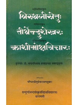 त्रिस्थलीसेतु, तीर्थेन्दुशेखर, काशीमोक्षाविचार: Tristhalisetu, Tirthendusekhara, Kasi Moksa Vicara