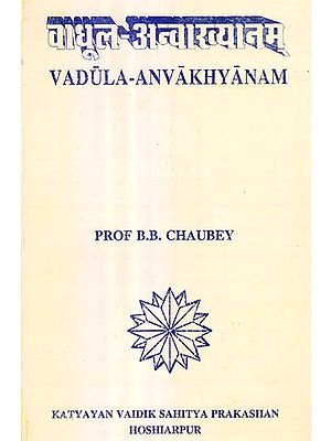 वाधूल अन्वारत्यानम्: Vadula Anvakhyanam