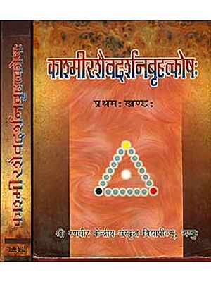 काश्मीरशैवदर्शनबृहत्कोष: Encyclopedia of Kasmira Saivism (Set of 2 Volumes)