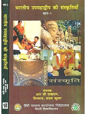 भारतीय उपमहाद्धीप की संस्कृतियाँ: Cultures of The Indian Subcontinent (Set of 2 Volumes)