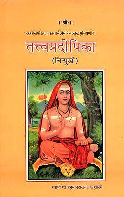 तत्त्वप्रदीपिका (संस्कृत एवं हिंदी अनुवाद): Tattvapradipika (Chitsukhi) (An Old and Rare Book)