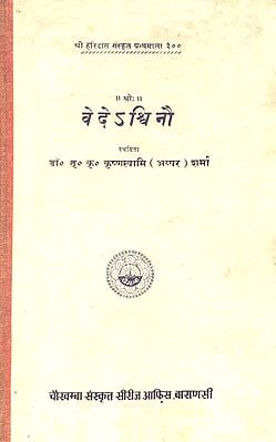 वेदेअश्विनौ: Ashwins in The Vedas (An Old and Rare Book)