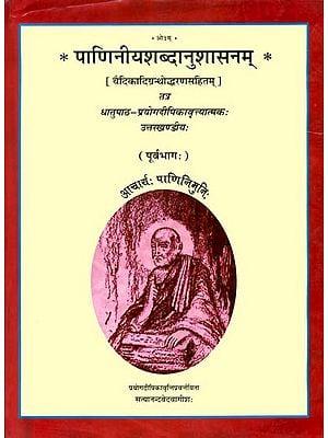 पाणिनीयशब्दानुशासनम्: Paniniya Shabda Anushasanam