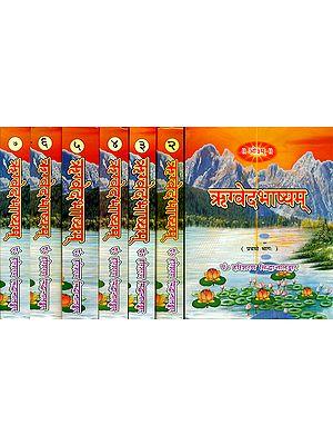 ऋग्वेदभाष्यम्: Rigveda Bhashya (Set of 7 Volumes)