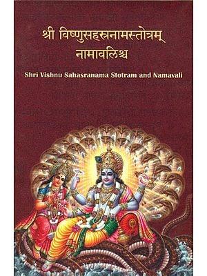 श्री विष्णुसहस्त्रनामस्तोत्रम्  नामावलिश्र्व - Shri Vishnu Sahasranama Stotram and Namavali