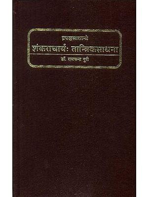 शंकराचार्य: तान्त्रिकसाधना - Tantric Sadhana in Prapanca Sara Tantra