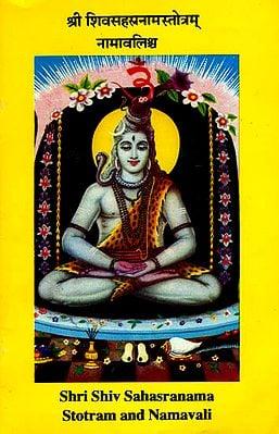 श्री शिवसहस्त्रनामस्तोत्रम नामावलिश्च: Shri Shiv Sahasranama Stotram and Namavali