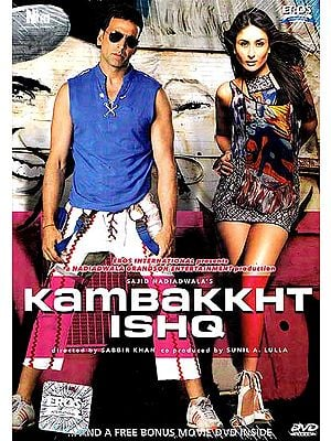 Oh This Damned Romance….A Romantic and Comedy Hindi Film Shot in Los Angeles (DVD with English Subtitles) (Kambakkht Ishq)