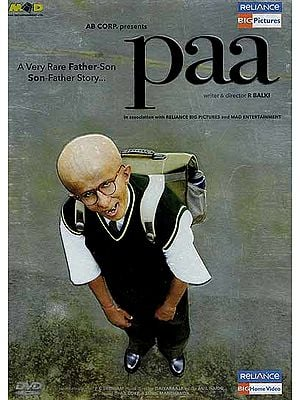 Paa (A Very Rare Father-Son Son-Father Story, Perhaps Amitabh Bachchan's Finest Ever Performance as a Thirteen Year Old Boy Suffering from a Rare Genetic Effect) (Hindi Film DVD with English Subtitles)