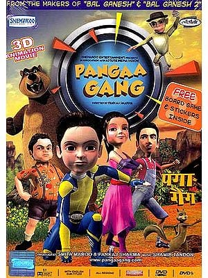 Pangaa Gang with Free Board Game & Stickers Inside (DVD)