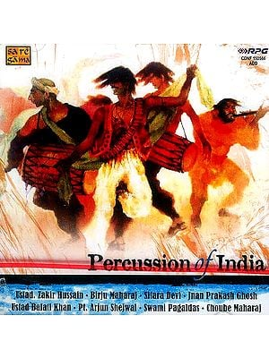 Percussion of India (Audio CD)