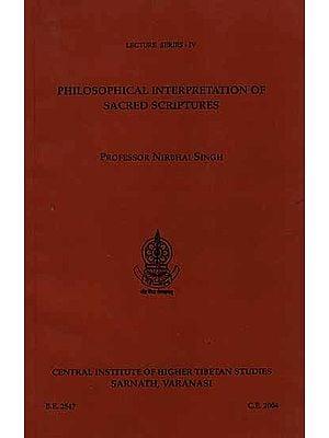 Philosophical Interpretation of Sacred Scriptures