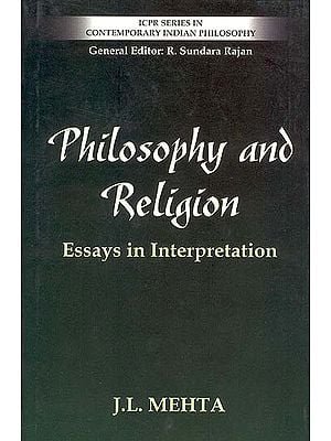 Philosophy and Religion - Essays in Interpretation