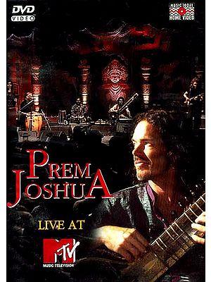 Prem Joshua Live At MTV (DVD Video)