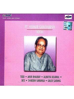 Pt. Kumar Gandharva Vocal (Audio CD)