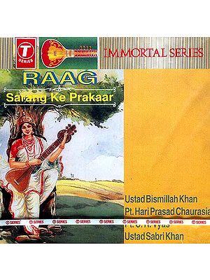 Raag Sarang Ke Prakaar (Audio CD): Immortal series