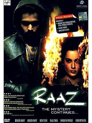 Raaz The Mystery Continues… (DVD with English Subtitles) - A Suspense-filled Thriller