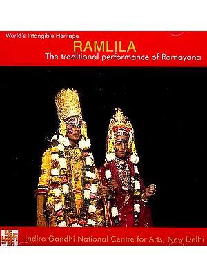 Ramlila The Traditional Performance of Ramayana (DVD)