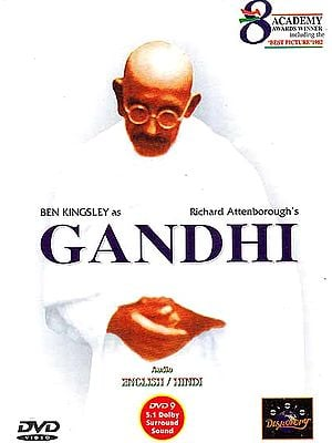 "Richard Attenborough's Gandhi (Academy Awards Winner Including the ""Best Picture"" 1982) (Optional Audio In English/Hindi) 