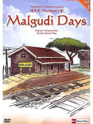 R.K. Narayan's Malgudi Days Volume-2 (Hindi DVD Video with English Subtitles)