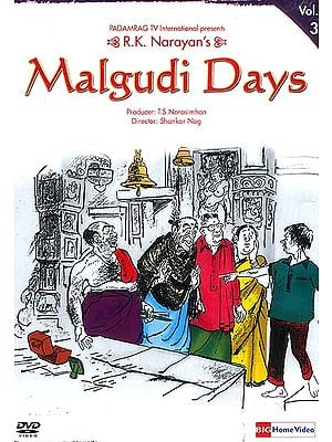 R.K. Narayan's Malgudi Days Volume-3 (Hindi DVD Video with English Subtitles)