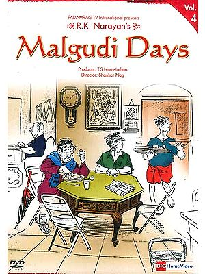 R.K. Narayan's Malgudi Days Volume-4 (Hindi DVD Video with English Subtitles)