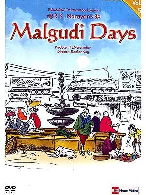 R.K. Narayan's Malgudi Days Volume-5 (Hindi DVD Video with English Subtitles)